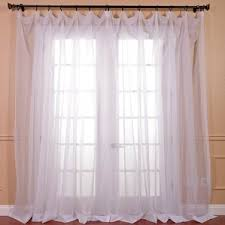 Crushed Voile Curtains Grommet by Crushed Voile Sheer Curtains Wayfair