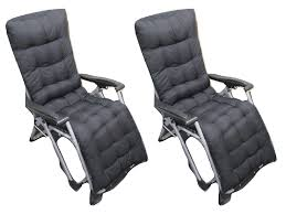 X2 Luxury Zero Gravity Recliners & Black Cushions - Outdoor Garden Folding  Recliner Kawachi Foldable Recliner Chair Amazoncom Lq Folding Chairoutdoor Recling Gardeon Outdoor Portable Black Billyoh And Armchair Blue Zero Gravity Patio Chaise Lounge Chairs Pool Beach Modern Fniture Lweight 2 Pcs Rattan Wicker Armrest With Lovinland Camping Recliners Deck Natural Environmental Umbrella Cup Holder Free Life 2in1 Sleeping Loung Ikea Applaro Brown Stained