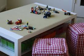 Lego Ikea Table Using Lack Coffee