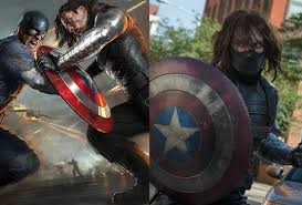 Years Later It Was Revealed That Bucky Had Survived The Explosion Depicted Above At Cost Of His Left Arm He Landed In Soviet Territories
