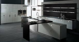 White Black Kitchen Design Ideas by Picture Of Modern Kitchen Design Dark Grey Floor Tiles Lovely