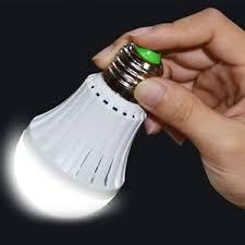 E27 Emergency LED Light Bulb Rechargeable Intelligent Lamp Magic