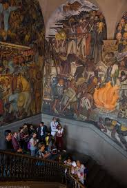David Alfaro Siqueiros Murales Bellas Artes by Diego Rivera In Mexico City U2013 Demerjee Travels U0026 More