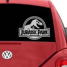100 Custom Window Decals For Trucks Jurassic Park Car Decal Car Jurassic Park Car Car