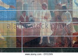harlem hospital wpa murals stock photo royalty free image