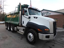 100 2012 Trucks Caterpillar CT660S Dump Truck For Sale Phillipston MA