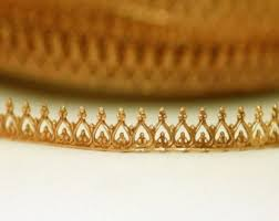 Decorative Metal Banding Material by 6 Floral Border Brass Banding Bezel Making Jewelry