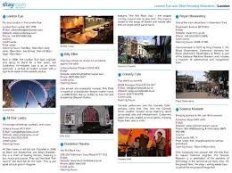 London Travel Guide Example