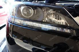 honda accord sedan coupe led running lights installation