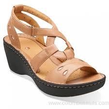 Luxury Au - Women's - Clarks Un.stern Beige Leather Sandals ...