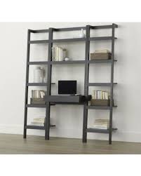 Crate And Barrel Leaning Desk by Find The Best Christmas Savings On Sawyer Grey Leaning Desk With
