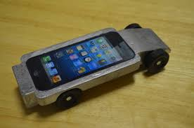 My Son s iPhone Pinewood Derby Car