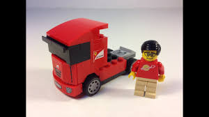 100 Ferrari Truck LEGO Scuderia 30191 Shell VPower Promotional Polybag