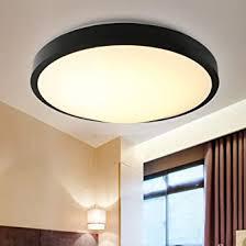natsen 33w led deckenle wohnzimmer modern schwarz deckenleuchte warmweiß kaltweiß neutralweiß le ø460mm 3300lumen x020h