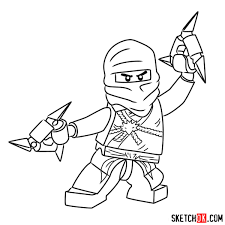97 How To Draw Lego Cole Step By Step From The Lego Ninjago Movie