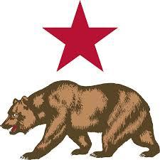 Clipart California Republic Grizzly Bear Flag