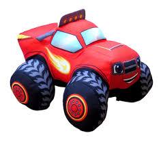 100 Big Toy Trucks Nickelodeon Blaze And The Monster Machines Blaze 8 Plush Big Trucks