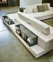 arketipo canapé canapé modulable contemporain en tissu 7 places et plus