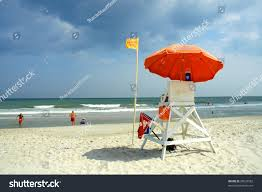 Beach Lifeguard Chair Plans by Myrtle Beach South Carolina Lifeguard Chair Stock Photo 28829582