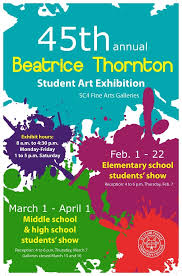 St Clair County Community College Will Present The 45th Annual Beatrice Thornton Student Art Exhibition Bluewaterorg Event Th