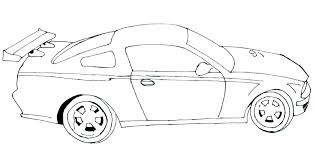 Coloring Pages For Kids Cars Free Printable Color Bros Regarding Co