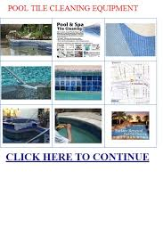 pool tile cleaning equipment swimming pool tile cleaning