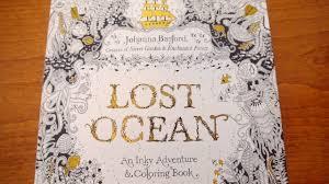 Lost Ocean Coloring Book Look Through
