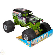 100 Kids Monster Trucks Truck Hot Wheels Grave Digger Off Road Vehicle Toy