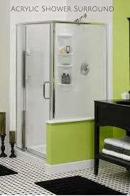 shower surround panels bathtub wall corian solid surface walls