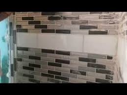 how clean grout of glass tile