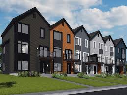 100 Modern Townhouses Villa Creek Mill Montreal Latest Town