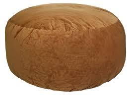 Amazon Gold Medal 5 Feet Comfort Cloud Foam Bean Bag Cocoa Kitchen Dining