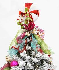Nightmare Before Christmas Tree Topper by Christmas Christmas Tree Topper Ideas Bow For Pictures On