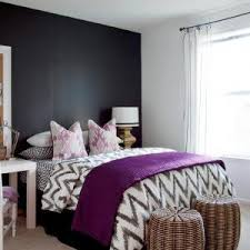 Gray White And Purple Bedroom Ideas