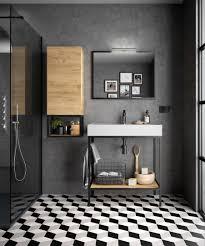 salgar vinci waschtisch auf metallkonstruktion schwarz mit ablage industriedesign 60 120cm