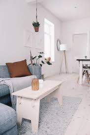 unser wohnzimmer im scandi look holzbank sofa a