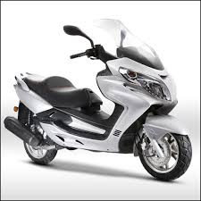 EPA DOT Approved Gas Motor Scooter Equipped With 4 Stoke 250cc