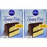 Amazon Pillsbury Sugar Free Yellow Cake Mix 16 oz Kitchen