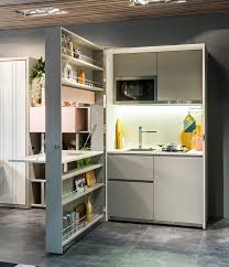 Clei Murphy Bed by Brilliant Folding Kitchen And Murphy Bed In One Unit