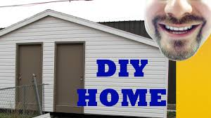Wood Storage Sheds 10 X 20 by How To Build A Storage Shed In 4 Minutes 10 U0027 X 24 U0027 Build It