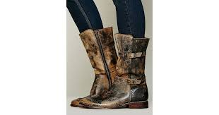 Bed Stu Gogo by Bed Stu Sandover Mid Boot In Brown Lyst