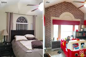 Fire Truck Bedroom Ideas With Wall Stencils Stickers Quotes ...