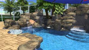 Custom Pool With Rock Waterfall & Slide - YouTube Bedroom Pleasing Awesome Backyard Pool Slide Gopro Hero Best Designs Pics With Extraordinary Small Pools The Famifriendly Slide Becomes An Adventure As It Wraps Around Backyards Chic Design Ipirations Swimming Waterslides Walmartcom Appealing Water Slides Features Omni Builders Interior With Rock Pinterest Rock And Hot Tub And Vinyl Liner Diving Board 50 Ideas