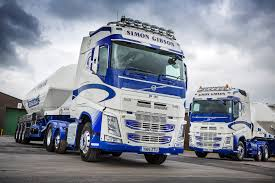 100 Gibson Truck Simon Transport Order Three New Volvo FH Tractor
