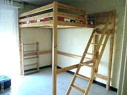 lit avec bureau int r lit mezzanine 2places lit mezzanine en bois 1 place lit mezzanine 2