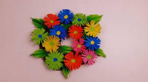 Paper Craft Ideas For Room Decoration Origamiorigami Craftorigami Flower