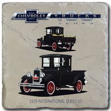 100 1929 Chevy Truck International Series LD S 100 Stone Coaster GM