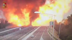 100 Propane Truck Explosion Tanker Truck Explosion In Italy Kills Two And Injures Dozens