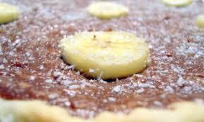 dessert rapide chocolat banane tarte choco coco banane recettes de desserts plus de 1000