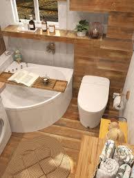 stilvolles gemütliches hölzernes badezimmerdesign tona bad